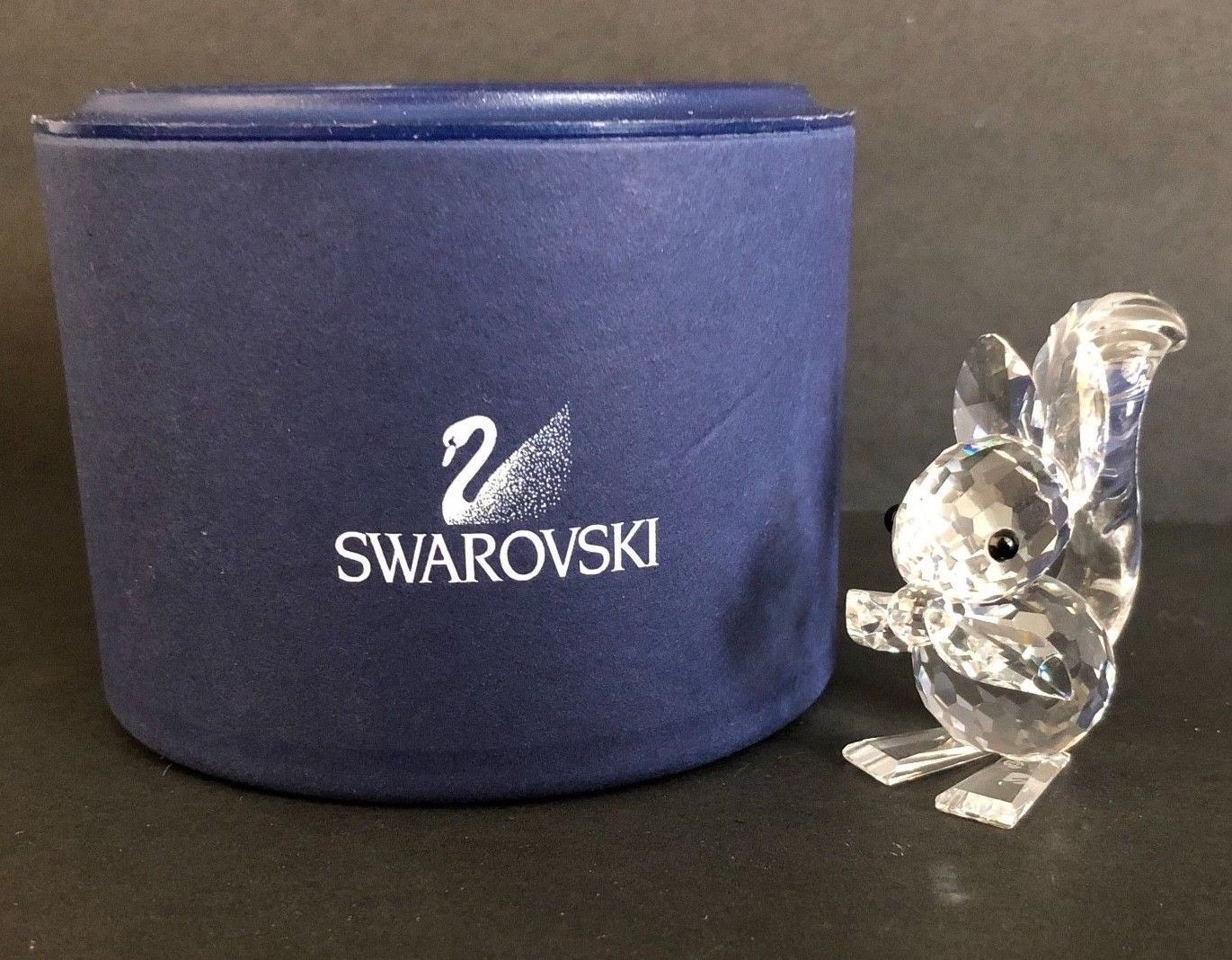 0cb02b361 SWAROVSKI Crystal Squirrel with Nut with Box and similar items. S l1600