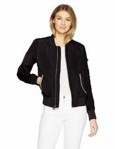 Levi'S Women'S Poly Bomber Jacket With Contrast Zipper Pockets - $45.80+