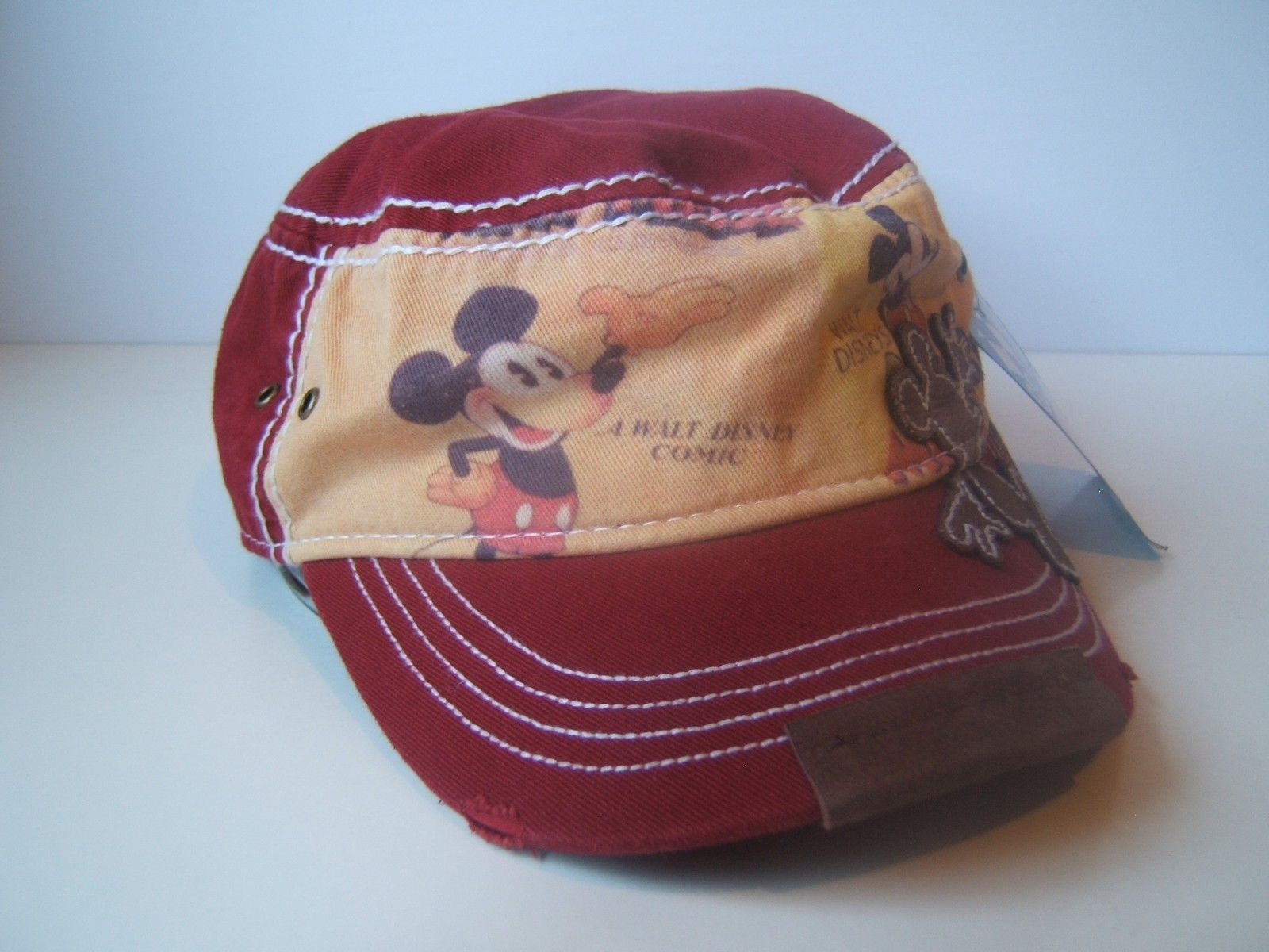5cbb77c718a23 Burgundy Mickey Mouse Army Hat Disney Parks and 50 similar items. 57