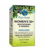 Whole Earth & Sea from Natural Factors, Women's 50+ Multivitamin & Mineral, Vega - $30.07