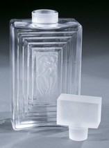 "MINT Crystal Lalique Duncan #3 Perfume Bottle~7 3/4"" Tall~LARGE~Retail $... - $749.99"