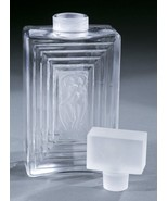 """MINT Crystal Lalique Duncan #3 Perfume Bottle~7 3/4"""" Tall~LARGE~Retail $... - $791.99"""