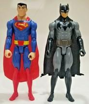 """2016 DC Comics Justice League BATMAN SUPERMAN Poseable 12"""" Action Figure Mattel - $18.11"""