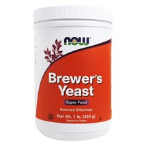 NOW Foods Brewer's Yeast Debittered, 1 lb. - $15.35