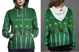 [Perfect Winter Christmas Gift] Christmas Tree Candy's Hoodie Zipper for... - $50.99+