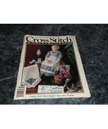 Cross Stitch & County Crafts Magazine January February 1991 Berribboned ... - $0.99