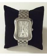 MORELLATO Natural Diamonds REF.S08015 Quartz Date Ladies Watch Silver Tone - $69.29