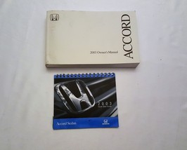 2003 Honda Accord Owners Manual 05015 - $18.76