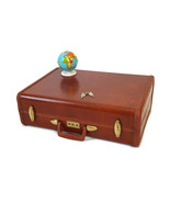 Vintage Samsonite Brown Suitcase 1950s Luggage Burlesque Case Valise  - $123.75