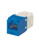 Panduit CJ688TGBU CAT 6 Jack Module Mini-Com Blue NEW - $8.90