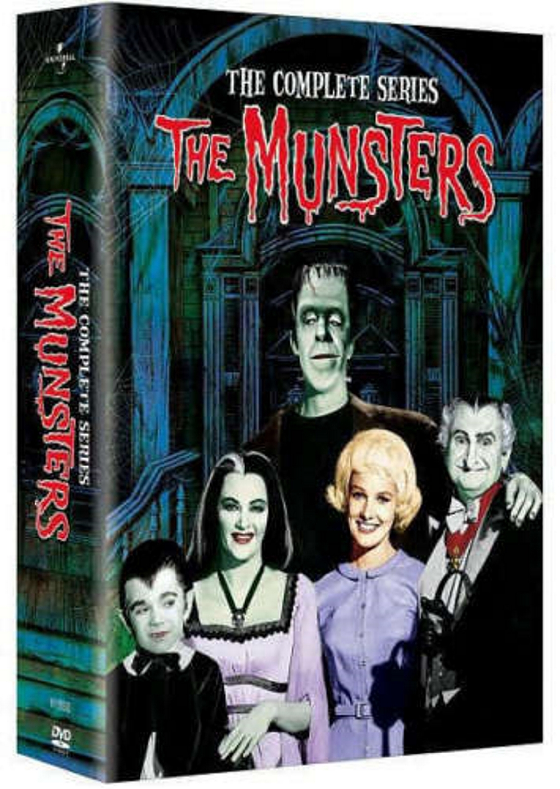 The munsters   the complete series  dvd  2008  12 disc set  2