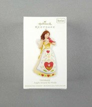 "Hallmark 2012 Keepsake Christmas Ornament ""Germany"" Angels Around The World NEW - $16.82"