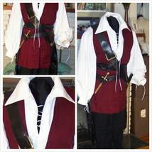 Pirate Costume Renaissance Buccaneer Mate ostume - $125.00