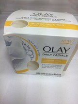 OLAY Daily Facial Nourishing Clean Shea Butter 33 Dry Cloths Water Activ... - $10.19