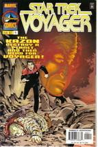 Star Trek: Voyager TV Series Comic Book #4 Marvel 1997 NEAR MINT NEW UNREAD - $3.99