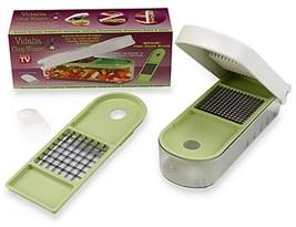 VIDALIA CHOP WIZARD Kitchen Tools Food Dicer Slicer Chopper Multi Use NE... - $24.75