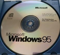 Microsoft Windows 95 - $155.00