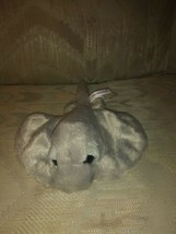 "Aurora Sting Ray Plush 10"" Gray 2018 Stuffed Animal Surface Wash Made In... - $12.86"