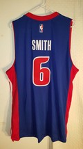 Adidas Swingman 2015-16 NBA Jersey Detroit Pistons Josh Smith Blue sz 2X - $19.79