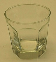 """Anchor Hocking Courtney Clear Old Fashioned Glass 3-1/2"""" Panel Designs G... - $16.82"""