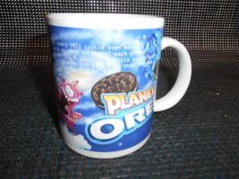 Old Vtg PLANET OREO COFFEE CUP Mug Cookies Advertising Nabisco - $19.79
