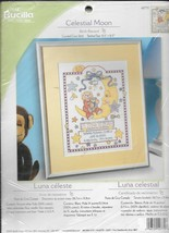 Bucilla Counted Cross Stitch Kit Celestial Moon Birth Record #42770 - NIP - $19.80