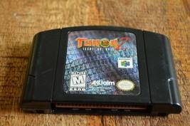 Turok 2 Seeds Of Evil (Nintendo 64, 1998) N64 Video Game - $11.64