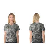 Day of Dead V-Neck Tee Women's T-Shirt - $21.99