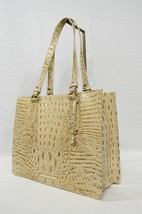 NWT Brahmin Medium Camille Leather Tote/Shoulder Bag in Champagne Melbourne - $269.00
