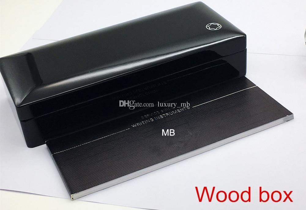 Luxury Pen Box with The papers Manual booklet For Gift mb case supply image 5
