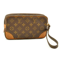 LOUIS VUITTON Monogram Marly Dragonne PM Clutch Bag M51827 LV Auth 9230 - $240.00