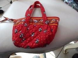 Vera Bradley small Teeny paddy handbag in retired Provincial pattern - $15.50
