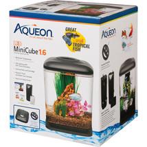Aqueon Black Led Mini Cube Aquarium Kit 1.6 Gallon - $48.68
