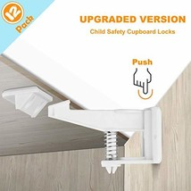 Baby Safety Cabinet Locks, Child Proof Cupboard Press Locks, Invisible D... - $13.07