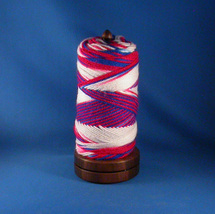 Walnut Yarn / Thread Holder - Natural Wax Finish - $32.50