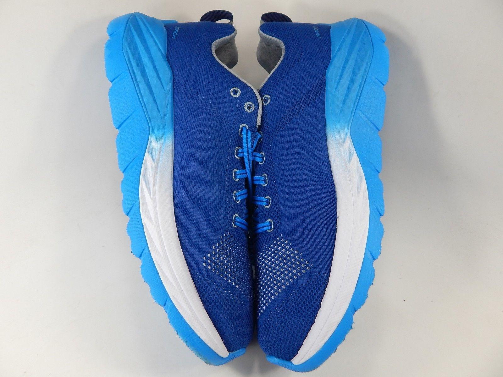 Hoka One One Mach Size US 10 M (D) EU 44 Men's Running Shoes Blue White