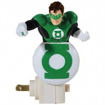 "DC Comics The Green Lantern Figure and Logo Image 5"" Resin Figure Nightl... - $17.37"