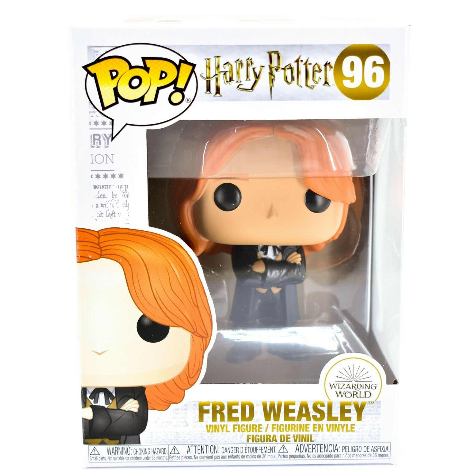 Funko Pop! Harry Potter Fred Weasley Yule Ball #96 Vinyl Action Figure