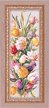 Tulips Framed Canvas Giclee Floral - $167.31