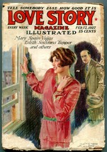 Love Story Magazine Pulp February 12 1927- Mary Spain Vigus - $56.75