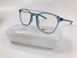 New NIKE 7281 401 Matte Ocean Fog Eyeglasses 50mm with NIKE Case - $69.25