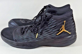 Nike Metallic 881562 Jordan Gold Black M13 16 Anthracite Sz Melo 004 7wBxZ76