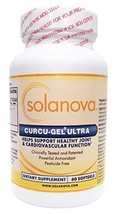 Curcu-Gel Ultra Curcumin Spice Supplement 500mg, 60 Softgels by Solanova - $52.76