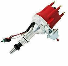 Pro Series R2R Distributor for Ford 144 170 200 250, 5/16 Hex Shaft Red Cap image 8