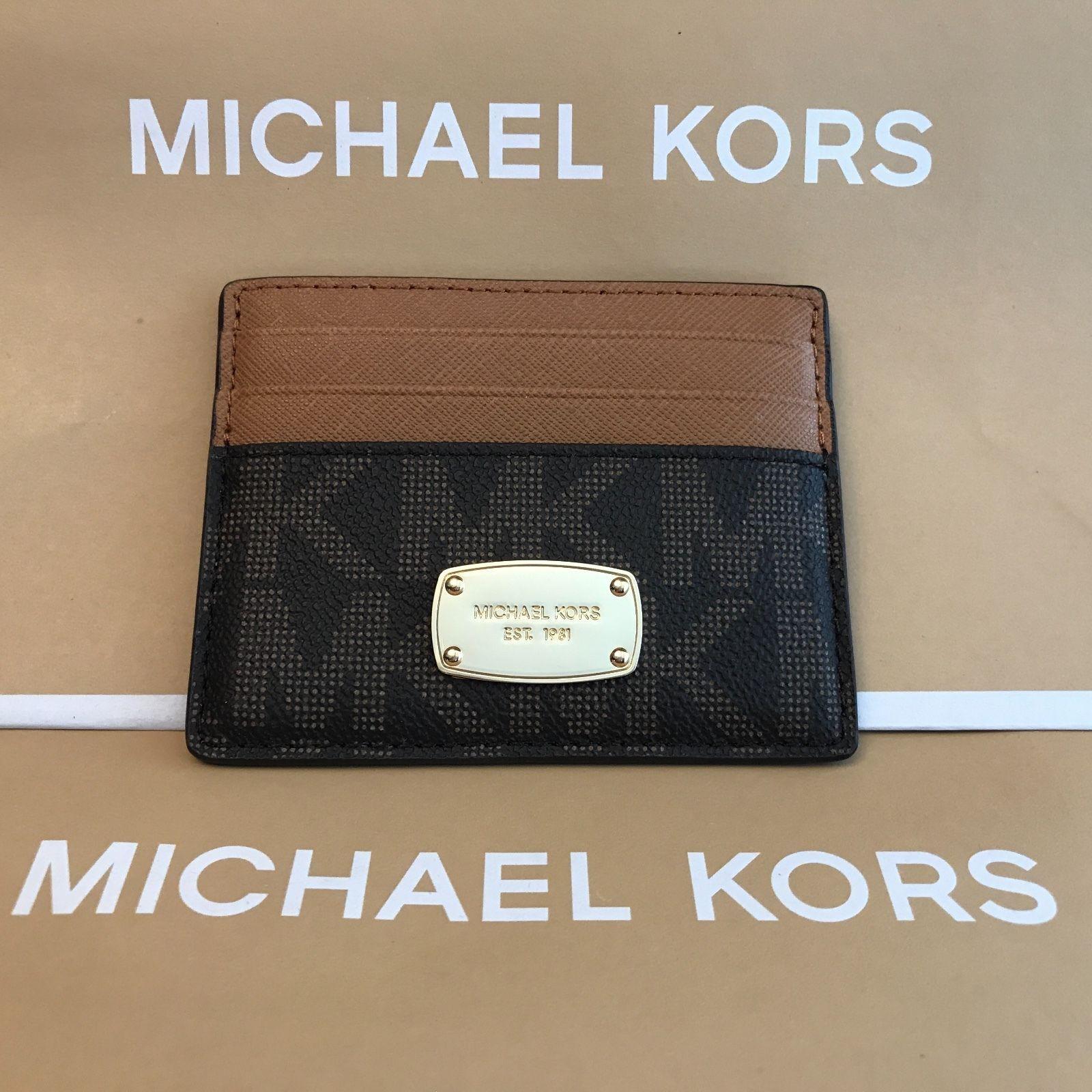 5f811626867e2c Nwt Michael Michael Kors Signature Jet Set and 50 similar items. 57