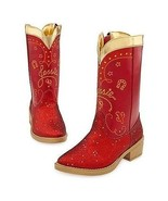 Disney Store Deluxe Toy Story Jessie the Cowgirl Red Sparkle Cowboy Boot... - $48.02