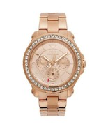 Juicy Couture Women's 1901050 Pedigree Rose-Gold Chronograph Watch - $140.24