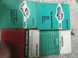1984 TOYOTA CELICA Service Repair Shop Workshop Manual Set W EWD OEM + - $118.75