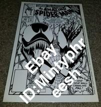 1 Marvel Comics Amazing Spider-man 363 NM SKETCH PRINT 3rd App Carnage R... - $19.99