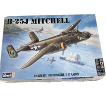 Revell B-25J Mitchell Bomber 1/48 Scale Plastic Model Airplane Kit  85-5... - $37.95